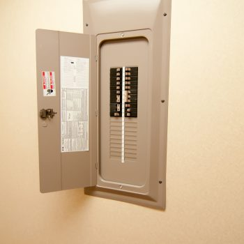 20989893 - indoor electrical power breaker panel